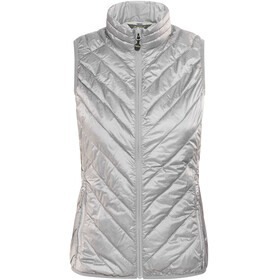Meru White Rock Padded Vest Women high rise melange